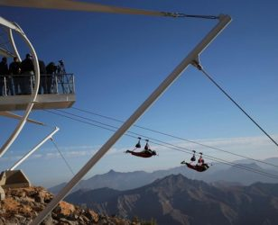 Jebel Jais Flight: The World's Longest Zipline